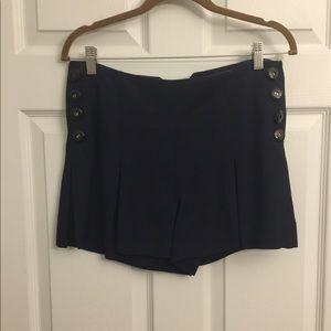 Dressy navy shorts 2